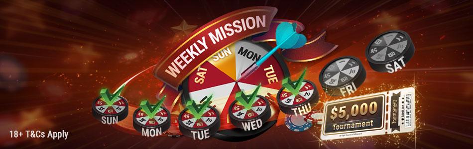 Mission Complete $5,000 Freeroll