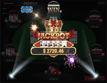 you will hit the Big Hand Jackpot!