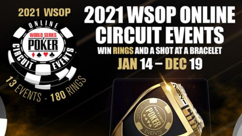 WSOP Circuit will run all 2021 online